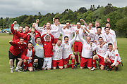 AC Harleys celebrate their title win - Dundee Saturday Morning FA - Super Saturday at Dundee UNI<br /> <br />  - &copy; David Young - www.davidyoungphoto.co.uk - email: davidyoungphoto@gmail.com