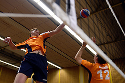 31-05-2013 VOLLEYBAL: OUD INTERNATIONALS - REGIO TOPPERS: ASSEN<br /> Animo 68 en Joost Kooistra organiseren een Topwedstrijd om geld op te halen voor voor Mieke de Vroede. Mieke kwam in 2011 in aanraking met ALS / Bas van de Goor en Peter Blange<br /> &copy;2013-FotoHoogendoorn.nl