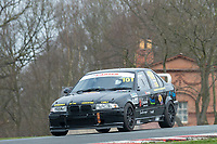 #101 Nik GROVE/Carlo TURNER BMW E36 328i  during Cartek Club Enduro Championship as part of the 750 Motor Club at Oulton Park, Little Budworth, Cheshire, United Kingdom. April 14 2018. World Copyright Peter Taylor/PSP.
