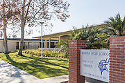 Marina High School in Huntington Beach California