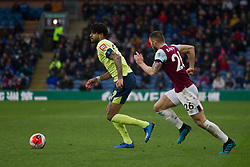 Philip Billing of Bournemouth (L) and Phillip Bardsley of Burnley in action - Mandatory by-line: Jack Phillips/JMP - 22/02/2020 - FOOTBALL - Turf Moor - Burnley, England - Burnley v Bournemouth - English Premier League