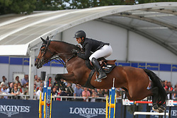 Vernaet Frederic, BEL, Just A Gamble<br /> Final Belgium Championships<br /> Zangersheide FEI World Cup Breeding Jumping<br /> <br /> 15/09/18