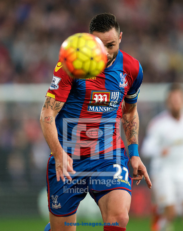 Damien Delaney of Crystal Palace during the Barclays Premier League match at Selhurst Park, London<br /> Picture by Alan Stanford/Focus Images Ltd +44 7915 056117<br /> 31/10/2015
