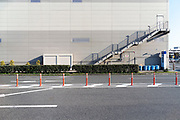 side view of a very large warehouse building Yokosuka Japan