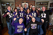 2/3/13 - The Mooney Family, Super Bowl Sunday. Photo by Christopher T. Assaf..©Christopher T. Assaf 2013/All Rights Reserved