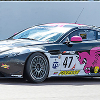 #47, Aston Martin GT4 Challenge, JWB Motorsport, driven by Kieran Griffin and Jake Giddings, 03/05/2015. British GT Championships at Rockingham