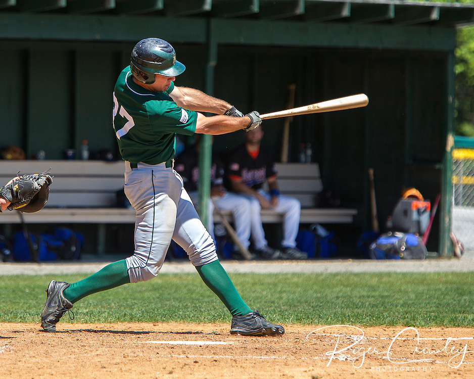 The Vermont Mountaineers defeated the Newport Gulls 5-4 an NECBL game at Recreation Field.