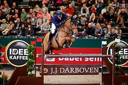 Mathy Francois Jr, BEL, Falco van de Clehoeve<br /> Leipzig - Partner Pferd 2018<br /> CSI-W 5* IDEE Kafee Preis    <br /> © Hippo Foto - Stefan Lafrentz<br /> 19/01/2018