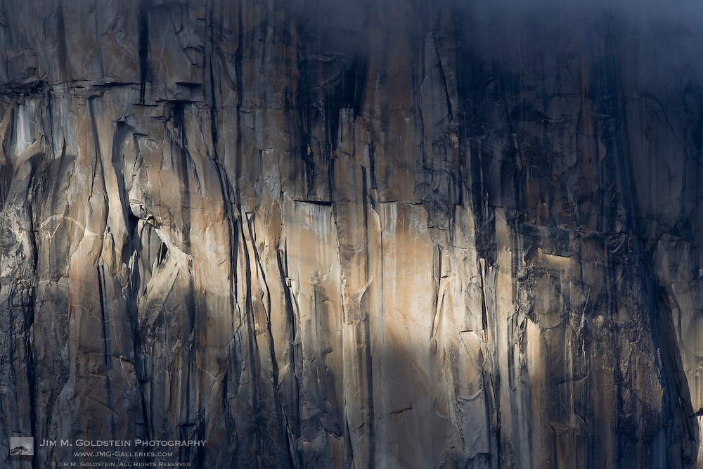 El Capitan cliff-face detail - Yosemite National Park, California