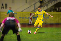 Elvis Bratanovic of NK Domzale during football match between NK Domzale and NK Aluminij in 8th Round of Prva liga Telekom Slovenije 2016/17, on September 9, 2016 in Sportni Park, Domzale, Slovenia. Photo by Ziga Zupan / Sportida