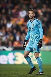 December 23, 2017 - Valencia, Spain - Neto during the match between Valencia CF against Villarreal CF , week 17 of  La Liga 2017/18 at Mestalla stadium, Valencia, SPAIN - 17th December of 2017. (Credit Image: © Jose Breton/NurPhoto via ZUMA Press)