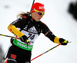 16.12.2011, Biathlonzentrum, Hochfilzen, AUT, E.ON IBU Weltcup, 3. Biathlon, Hochfilzen, Sprint Frauen, im Bild Franziska Hildebrand (GER) // during Sprint women E.ON IBU World Cup 3th Biathlon, Hochfilzen, Austria on 2011/12/16. EXPA Pictures © 2011, PhotoCredit: EXPA/ Oskar Hoeher
