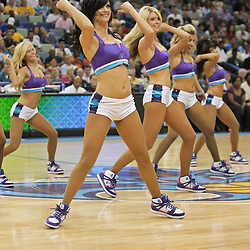05 April 2009: New Orleans Hornets Honeybees dance team performs during a 108-94 loss by the New Orleans Hornets to the Utah Jazz at the New Orleans Arena in New Orleans, Louisiana.