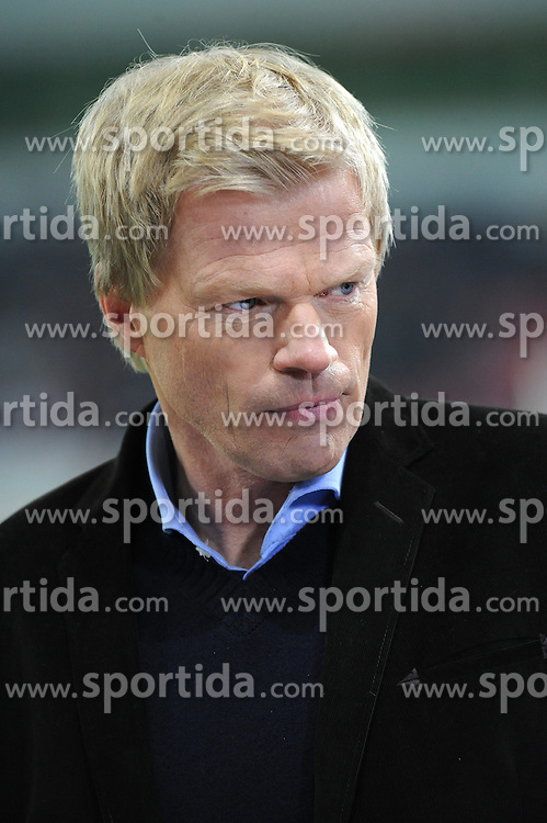27.11.2013, BayArena, Leverkusen, GER, UEFA CL, Bayer Leverkusen vs Manchester United, Gruppe A, im Bild ZDF Experte Oliver Kahn ( Portrait ) // during UEFA Champions League group A match between Bayer Leverkusen vs Manchester United at the BayArena in Leverkusen, Germany on 2013/11/28. EXPA Pictures &copy; 2013, PhotoCredit: EXPA/ Eibner-Pressefoto/ Thienel<br /> <br /> *****ATTENTION - OUT of GER*****