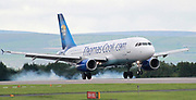 Thomas Cook at Manchester Airport, Manchester, United Kingdom on 14 March 2020.