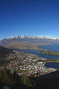 View from Skyline Gondola, Queenstown, South Island, New Zealand
