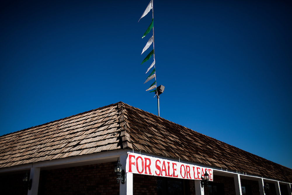 Businesses are shuttered in Fallon, Nevada, February 5, 2014.