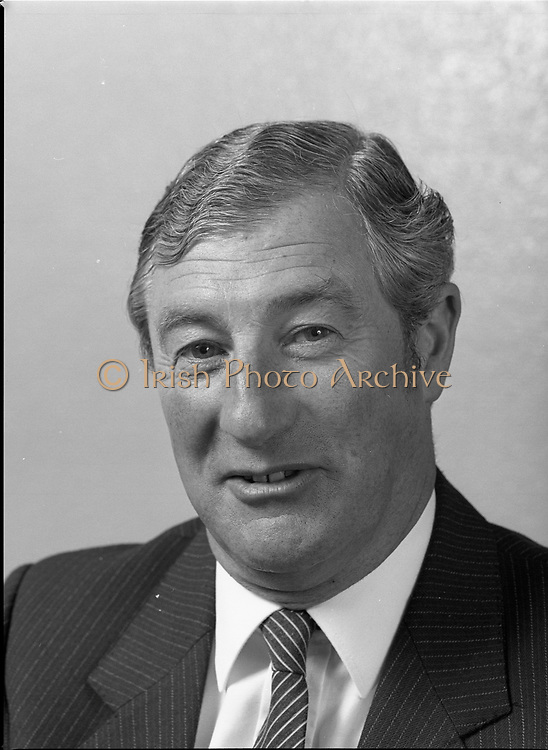 Portrait of Mr. Gerard Harvey chief execute of Bord Post, G.P.O., <br />