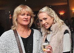 Christine and Aoife Harrington at the Neven Maguire cookery demonstration in aid of the Aoife Beary fund at Hotel Westport. Pic Conor McKeown