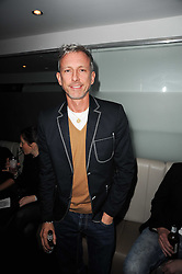 PATRICK COX at the W Hotels & American Express launch for the James Small collection at Number One Leicester Square, London on 22nd September 2010.