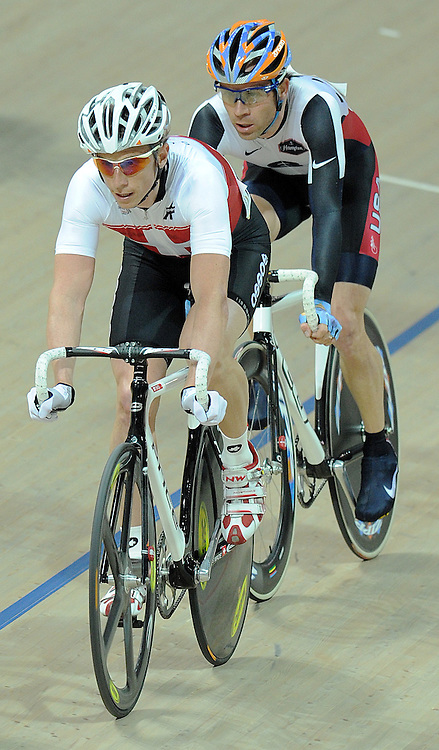 ALEXANDER AESCHBACH (SWITZERLAND) DURING MEN'S POINT RACE COPETITION UCI TRACK CYCLING WORLD CHAMPIONSHIPS PRUSZKOW 2009 IN POLAND...POLAND, PRUSZKOW , MARCH 25, 2009..( PHOTO BY ADAM NURKIEWICZ / MEDIASPORT )..PICTURE ALSO AVAIBLE IN RAW OR TIFF FORMAT ON SPECIAL REQUEST.