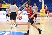 DESCRIZIONE: Berlino EuroBasket 2015 - Allenamento<br /> GIOCATORE:Marco Belinelli<br /> CATEGORIA: Allenamento<br /> SQUADRA: Italia Italy<br /> EVENTO:  EuroBasket 2015 <br /> GARA: Berlino EuroBasket 2015 - Allenamento<br /> DATA: 08-09-2015<br /> SPORT: Pallacanestro<br /> AUTORE: Agenzia Ciamillo-Castoria/I.Mancini<br /> GALLERIA: FIP Nazionali 2015<br /> FOTONOTIZIA: Berlino EuroBasket 2015 - Allenamento