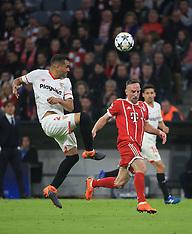 Bayern Munich vs FC Sevilla 11 April 2018