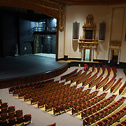 PUERTO RICO -- JANUARY  10, 2018: The University of Puerto Rico Theater, badly damaged by Hurricane Maria and restored with one million dollars donated, sits empty on January 10 2018 in Rio Piedras, Puerto Rico.  The theater was the venue selected for the run of Hamilton but was replaced at the last minute due to security concerns.  <br /> (Angel Valentin / For The Times)