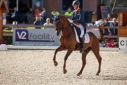 Van Silfhout Diederik, NED, Four Seasons 19<br /> Nederlands Kampioenschap Dressuur <br /> Ermelo 2017<br /> © Hippo Foto - Dirk Caremans<br /> 14/07/2017