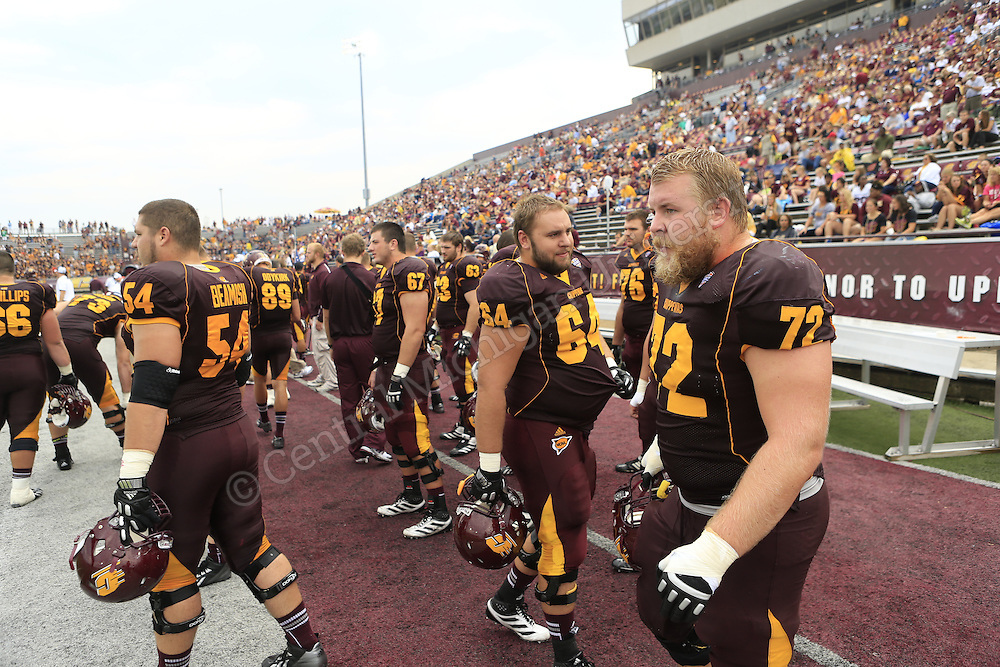 CMU football game day v New Hampshire 2013. Photos by Steve Jessmore/Central Michigan University