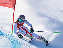 15.02.2018, Yongpyong Alpine Centre, Yongpyong, KOR, PyeongChang 2018, Ski Alpin, Damen, Riesenslalom, im Bild Anna Veith (AUT) // Anna Veith of Austria during the Ladies Alpine Giant Slalom Race of the Pyeongchang 2018 Winter Olympic Games at the Yongpyong Alpine Centre in Yongpyong, South Korea on 2018/02/15. EXPA Pictures © 2018, PhotoCredit: EXPA/ Johann Groder