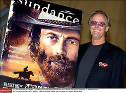 File photo - © Lionel Hahn/ABACA. 51604-1. Los Angeles-CA-USA, October 22 2003. Peter Fonda attends the special screening of The Hired Hand, his directorial debut in 1971 restored from the original classic and available on a special edition DVD. Peter Fonda, the star, co-writer and producer of the 1969 cult classic Easy Rider, has died at the age of 79. Peter Fonda was part of a veteran Hollywood family. As well as being the brother of Jane Fonda, he was also the son of actor Henry Fonda, and father to Bridget, also an actor.