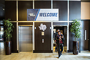 Greenville, South Carolina - March 17, 2017: TSU Tiger Demontrae Jefferson steps off of the elevator at the team hotel. The TSU Tigers played the UNC Tarheels in the first round of the 2017 NCAA Men's Tournament (Michael Starghill, Jr. for The Undefeated)