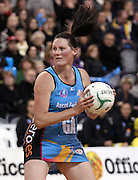 Donna Wilkins in action for the Steel.<br /> ANZ Championship - Steel v Pulse, 28 May 2012, The Edgar Centre, Dunedin, New Zealand.<br /> Photo: Rob Jefferies / photosport.co.nz