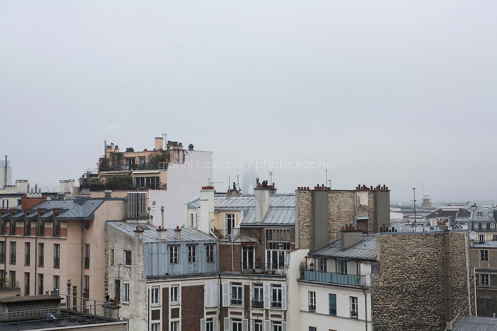 PARIS, FRANCE - 19 NOVEMBER 2014: The Tour Eiffel in Paris, France, on November 19th 2014.