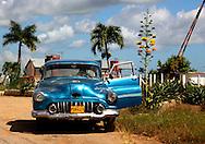 Car in Taco Taco, Pinar del Rio, Cuba.