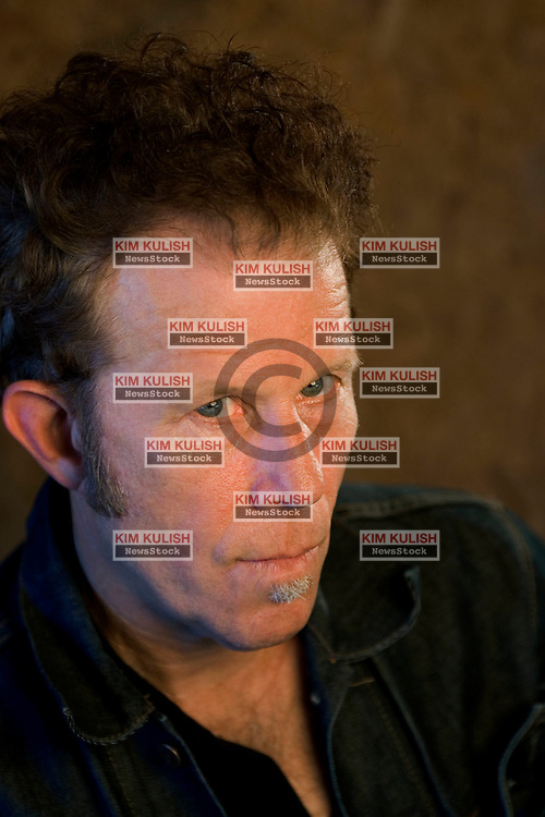 Portaits of Singer Songwriter Tom Waits in and around the Little Amsterdam restaurant near Petaluma, Calif.--Photo ©2004  by Kim Kulish