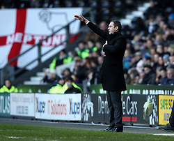 Derby County Manager Paul Clement gestures during the game against Birmingham City - Mandatory byline: Robbie Stephenson/JMP - 16/01/2016 - FOOTBALL - iPro Stadium - Derby, England - Derby County v Birmingham City - Sky Bet Championship