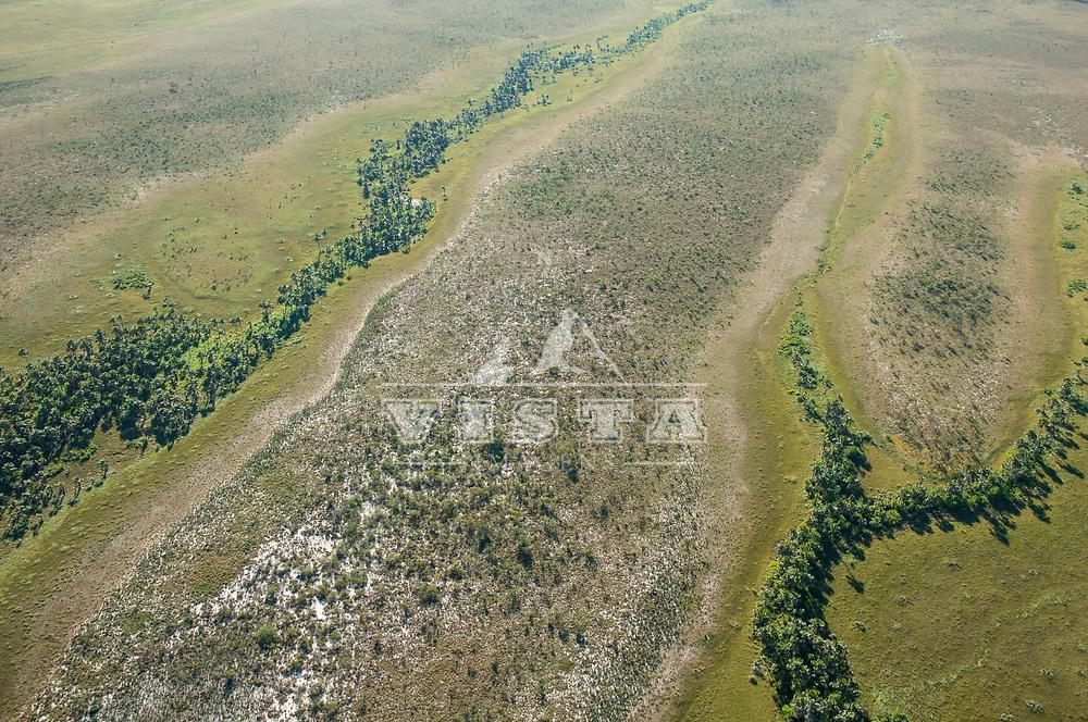 Vista aerea do Parque Estadual do Jalapão, Tocantins, Brasil, foto de Ze Paiva, Vista Imagens.