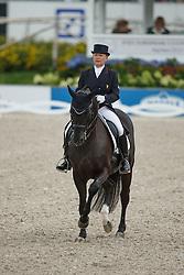 Tebar Karen, (FRA), Don Luis<br /> Grand Prix Kur<br /> European Championships - Aachen 2015<br /> © Hippo Foto - Dirk Caremans<br /> 16/08/15