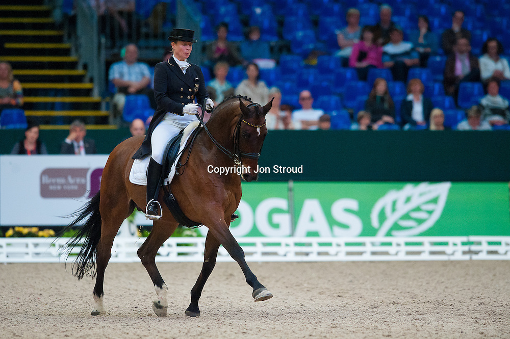 Isabell Werth (GER) & Satchmo - Reem Arca FEI World Cup Final Dressage - FEI World Cup Finals, Partner Pferde - Leipzig, Germany - 28 April 2011