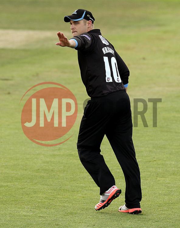 Sussex's Luke Wright - Photo mandatory by-line: Robbie Stephenson/JMP - Mobile: 07966 386802 - 19/06/2015 - SPORT - Cricket - Southampton - The Ageas Bowl - Hampshire v Sussex - Natwest T20 Blast