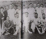 Waterford-All-Ireland Hurling Champions 1948. Back Row: Cullen (selector), M Foley (selector), J Keane, C Ware (selector), E Daly, J Ware, K O'Brien, M Hayes, E Carew, T Curran, T Lannan (selector). Middle Row: D Goode ( Co Sec), J Goode, J Cusack, A Fleming, W Gavin, J O'Connor, V Bastion, C Moylan.