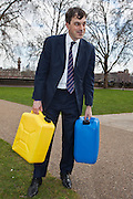 Julian Smith MP. Marking World Water Day, over 40 MP's walked for water at Westminster, London at an event organised by WaterAid and Tearfund. Globally hundreds of thousands of people took part in the campaign to raise awareness of the world water crisis.