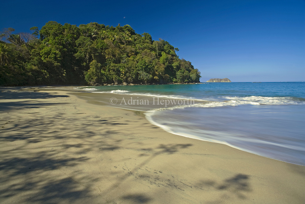 Espadilla Beach, Manuel Antonio National Park, pacific coast, Costa Rica. <br />
