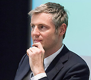 Conservative Mayoral candidate Zac Goldman during the Greener London Hustings in advance of the London Mayoral election at One Wimpole Street, London.<br /> Picture by Focus Images/Focus Images Ltd 07814 482222<br /> 04/03/2016