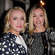 NLD/Amsterdam/20120308 - Presentatie nieuwe collectie voor Louis Vuitton, Eva Jinek en Renate Verbaan