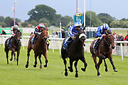 HAPPY POWER (4) ridden by Silvestre De Sousa and trained by Andrew Balding winning The Listed equinITy Technology Ganton Stakes over 1m (£50,000)   during the Midsummer Raceday held at York Racecourse, York, United Kingdom on 14 June 2019.
