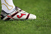 A detailed view of a Joma boot. Barcelona v Osasuna (0-1), La Liga, Nou Camp, Barcelona, 23rd May 2009.