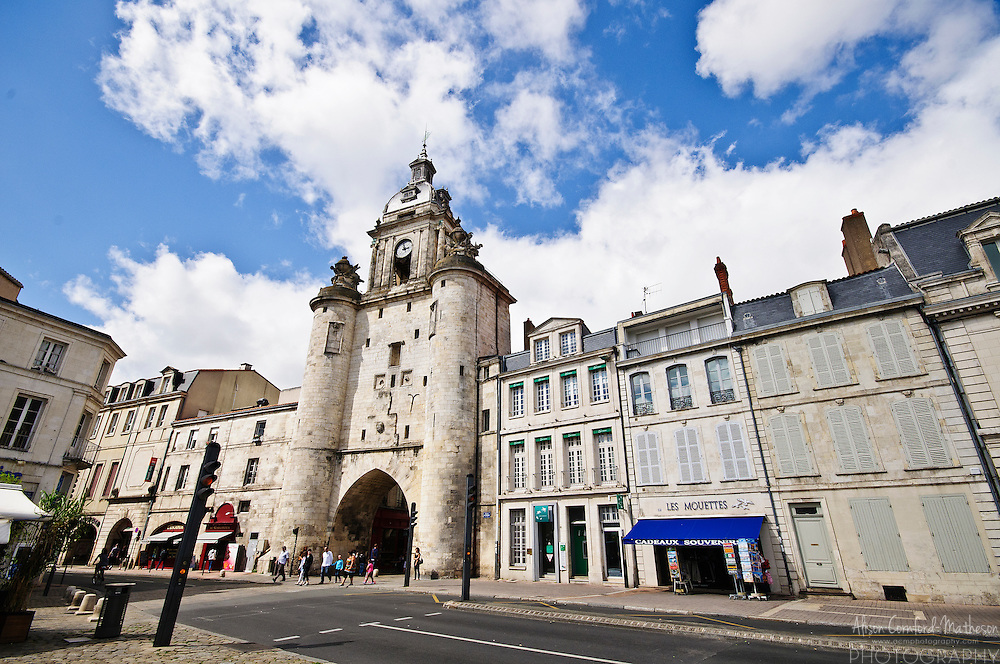 The Grosse Horloge, or big clock, was one of the gates of the original fortified city of La Rochelle, France.